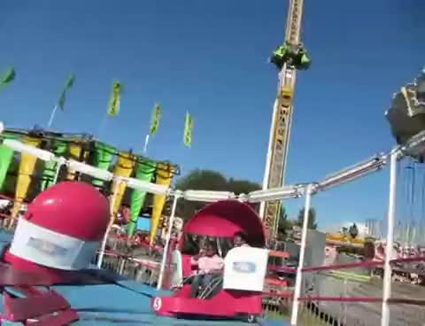 Watch and share Riding The Tilt-A-Whirl At The NC State Fair, 10/17/2010 GIFs on Gfycat