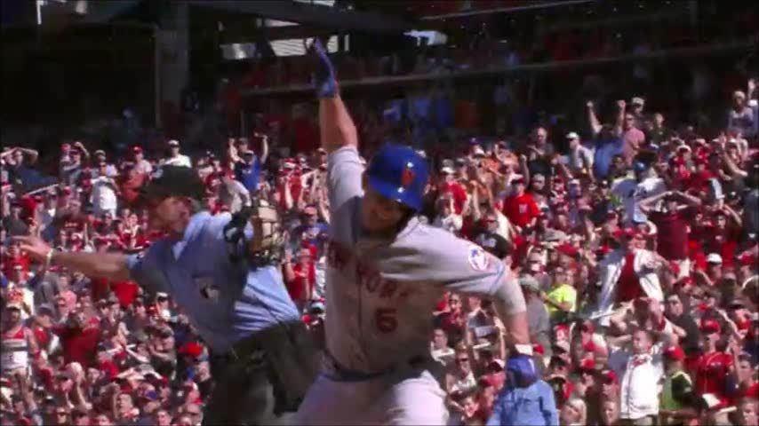 baseball, newyorkmets, Jose Bautista vs. the Phillie Phanatic (reddit) GIFs