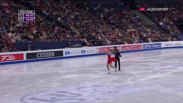 Watch and share 2017 World Championships FD Alexandra STEPANOVA & Ivan BUKIN GIFs on Gfycat