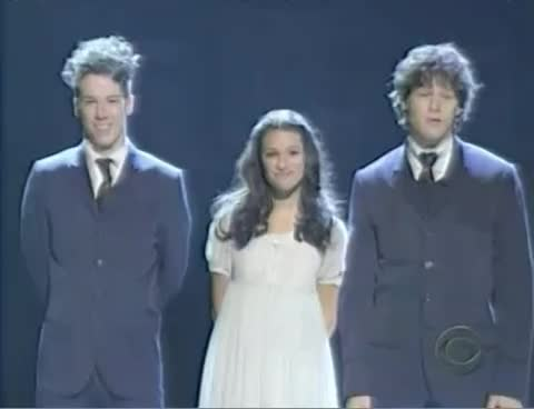 glee, leamichele, spring awakening performance GIFs