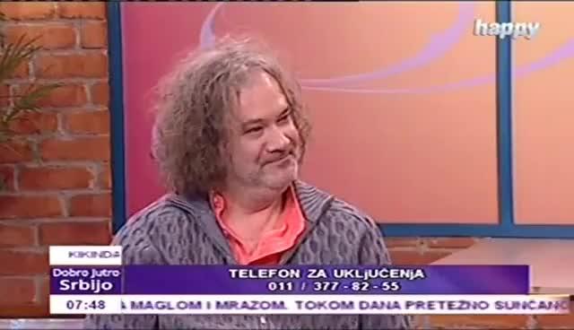Watch and share Dobro Jutro Srbijo: Dejan Anđus (TV Happy 09.12.2016.) GIFs on Gfycat