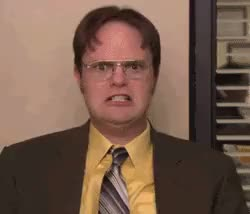 Watch this angry GIF on Gfycat. Discover more Rainn Wilson, androidcirclejerk GIFs on Gfycat