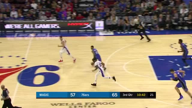 Watch and share Philadelphia 76ers GIFs and Orlando Magic GIFs by Mike Snyder on Gfycat