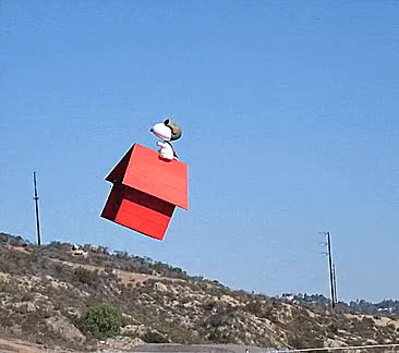 Watch and share FLYING SNOOPY GIFs on Gfycat