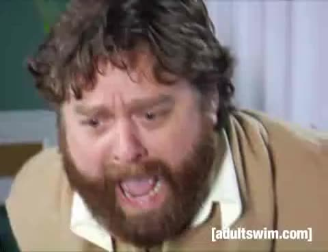 Watch and share Zac Galifinakis GIFs on Gfycat