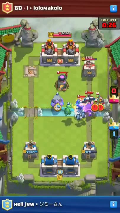 Watch and share Clash Royale GIFs and Bowler GIFs on Gfycat