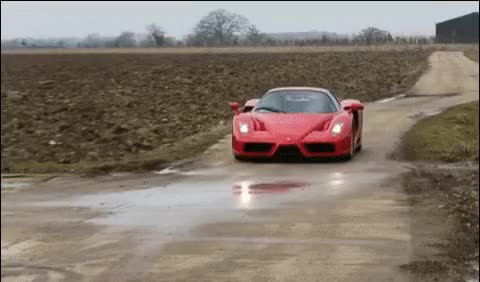 Watch Ferrari.enzo burnout donuts gif GIF on Gfycat. Discover more related GIFs on Gfycat