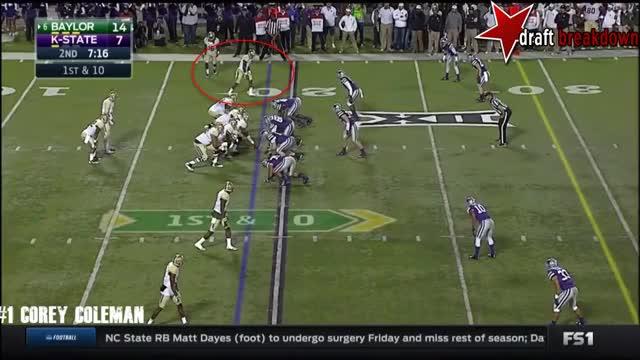 Watch and share Corey Coleman Vs Kansas State(2015) GIFs on Gfycat