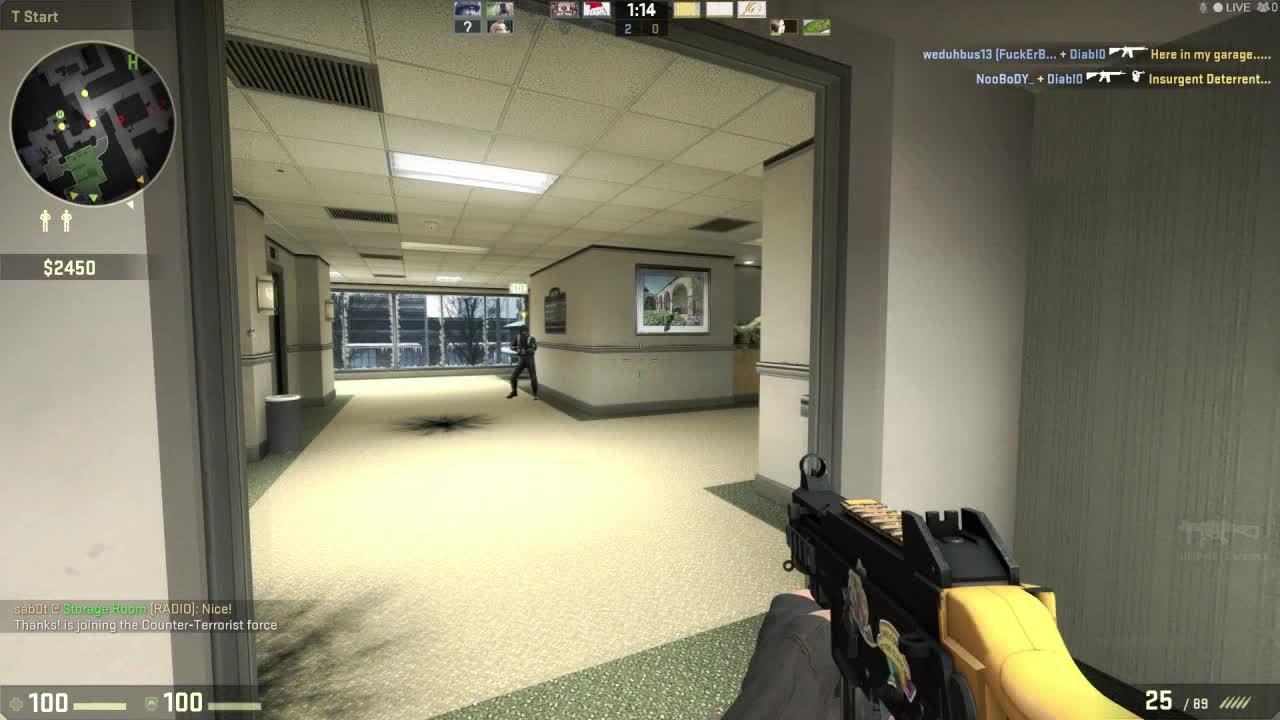 counterstrike, CS:GO Half-Blind Jump Taze GIFs