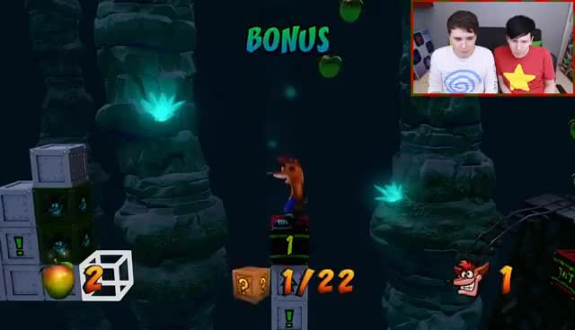 Watch 'Stormy Ascent' - THE HARDEST CRASH BANDICOOT LEVEL EVER GIF on Gfycat. Discover more Amazingphil, Daniel Howell GIFs on Gfycat