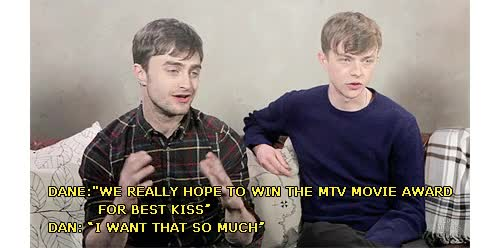 Watch and share Daniel Radcliffe GIFs and Dane Dehaan GIFs on Gfycat