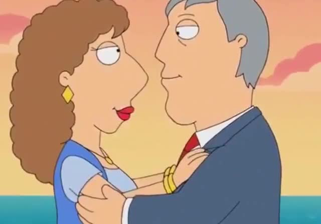 Watch this family guy GIF by GIF Queen (@ioanna) on Gfycat. Discover more anniversary, aww, couple, fall, family, forever, guy, i, in, in love, kiss, lois, love, mayor, romance, romantic, sister, together, west, you GIFs on Gfycat