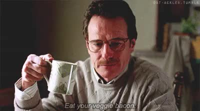 Watch Theres Comfort At The Bottom Of A Swimming Pool GIF on Gfycat. Discover more 1x01, Breaking Bad, Eat your veggie bacon, My gifs, Pilot, Walt Jr, Walter White, dat-ackles GIFs on Gfycat