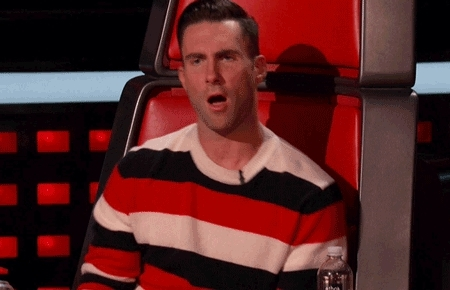 Adam Levine, no way, nope, oh no you didn't, oh no you didn't GIFs