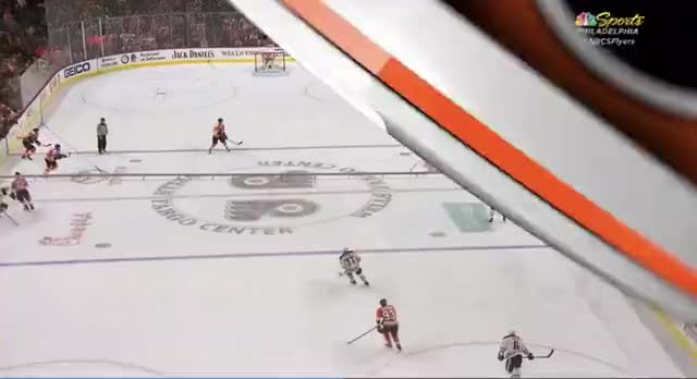 Watch and share Lucic Backcheck.mov GIFs by cultofhockey on Gfycat