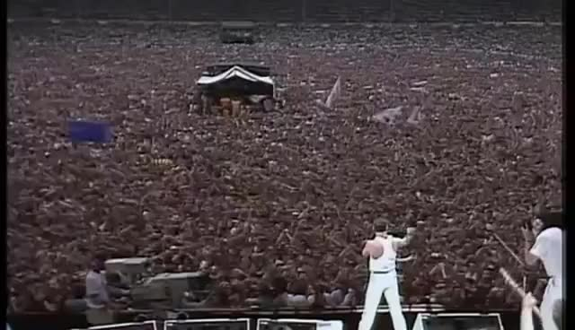Watch and share Live Aid GIFs and Queen GIFs on Gfycat