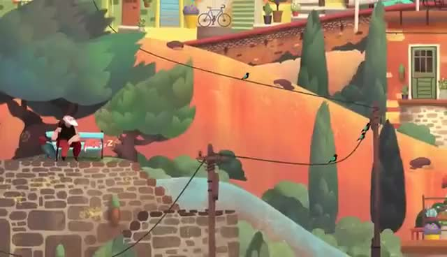 Watch and share Old Man's Journey Announcement Teaser GIFs on Gfycat