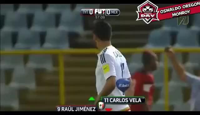 Watch and share Diego Reyes Gol Goal Mexico Vs Trinidad Y Tobago 1-0 2017 HD GIFs on Gfycat