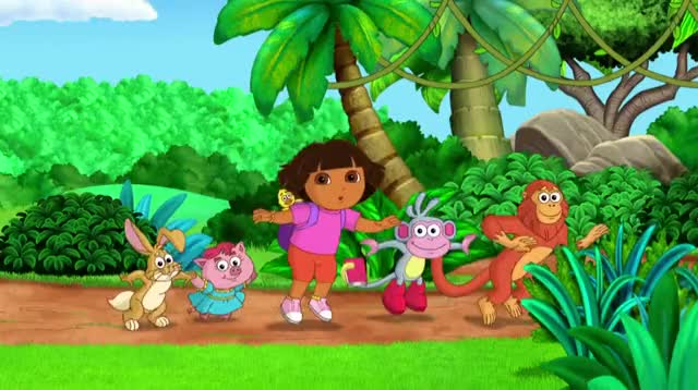 Watch and share Dora And Friends Swinging 6 GIFs by serenity123 on Gfycat