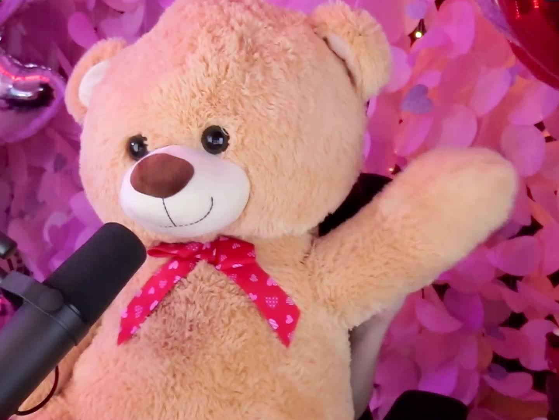 Bear, Broadcaster, Cahlaflour, Hi, Instagram, Streamer, Teddy, Twitch, Twitter, Wave, Youtube, Cahlaflour Teddy 01 GIFs