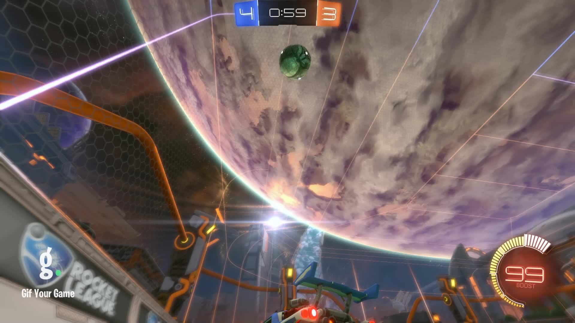 Gif Your Game, GifYourGame, Goal, Goldfish, Rocket League, RocketLeague, Goal 8: Goldfish GIFs