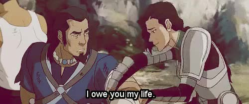 Watch this i owe you GIF on Gfycat. Discover more avatar parallels, book 4, edits, i owe you, korra, kuvira, legend of korra, tonraq GIFs on Gfycat