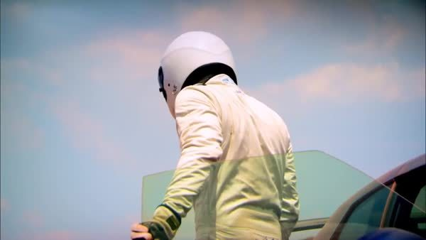 topgear, Some say he carries around a James May as a chauffeur, all we know is, he's called the Stig! (reddit) GIFs