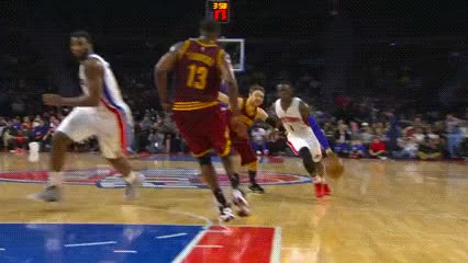 Watch and share Reggie Jackson, Detroit Pistons GIFs by Off-Hand on Gfycat