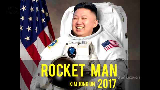 Watch Kim Jong Un response to being called Rocket Man GIF on Gfycat. Discover more Kim Jong Un, kim jong-un rocket man us airforce us military news GIFs on Gfycat