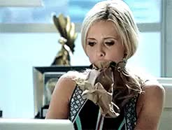 Watch laura GIF on Gfycat. Discover more Crazy Ones, Crazy Ones CBS, SMG, Sarah Michelle Gellar, Sydney Roberts, TCO, The Crazy Ones, The Crazy Ones CBS, fc2014, gifset, mine GIFs on Gfycat