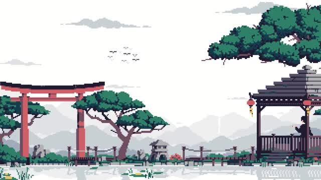 Watch and share Japanese Garden By Lennsan GIFs on Gfycat