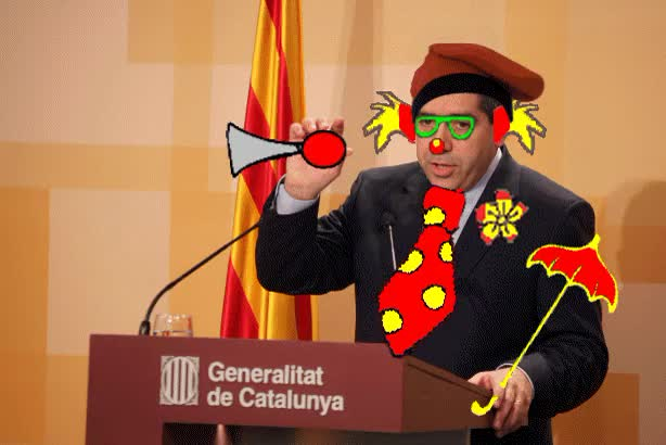 Watch and share Animado Francesc Homs Ferret Payaso Portavoz Del Gobierno Gamberro De Catalunya GIFs on Gfycat