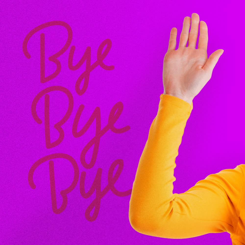 bye, bye bye, bye bye bye, denyse, farewell, goodbye, later, see ya, wave, Bye Wave GIFs