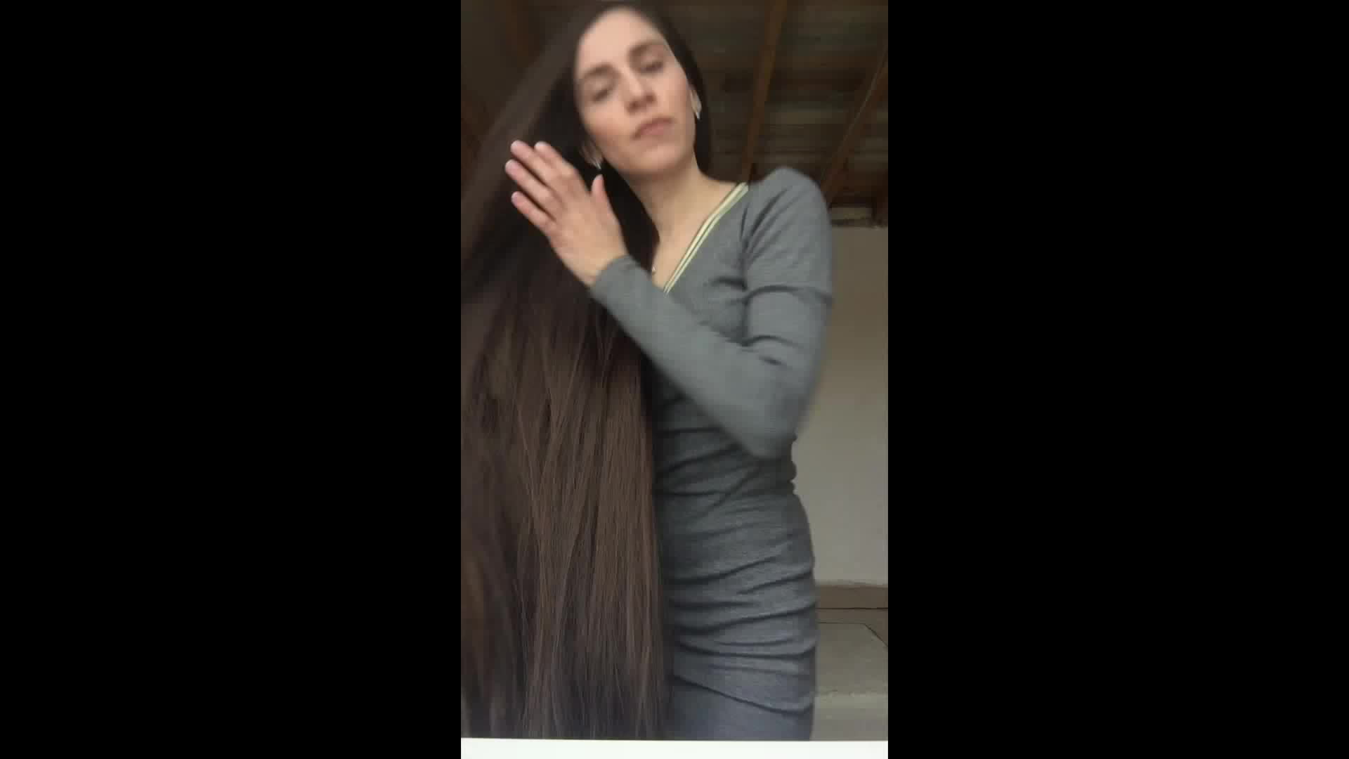 6 Minutes Of Tamila's Super Long Thick Hair Play part3 GIF by Anna Pink  (@annapink) | Find, Make & Share Gfycat GIFs