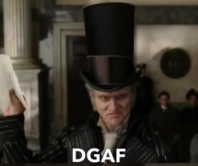 Watch and share Dgaf GIFs by Reactions on Gfycat