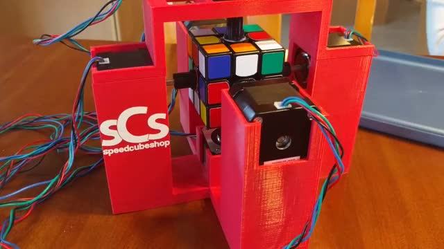 Watch Rubik's Cube Robot 1.3 seconds. GIF on Gfycat. Discover more BetterEveryLoop, Cubers, oddlysatisfying GIFs on Gfycat