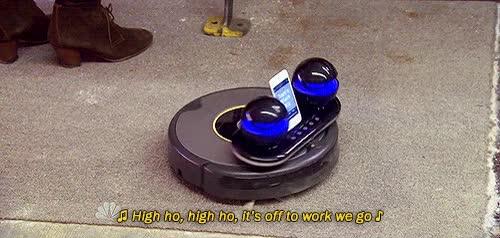 Watch and share Dj Roomba GIFs on Gfycat