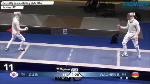 Watch and share Reflexive: Gu V Wagner Counterparry GIFs on Gfycat