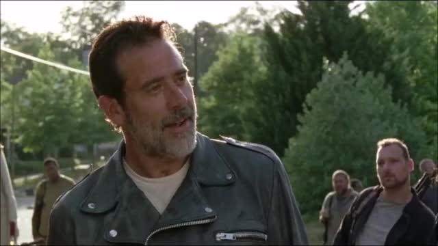 Watch The Walking Dead season 7 ep4 GIF by Reaction GIFs (@sypher0115) on Gfycat. Discover more Jeffrey Dean Morgan, thewalkingdeadseason7ep4, twd, twds7ep4 GIFs on Gfycat