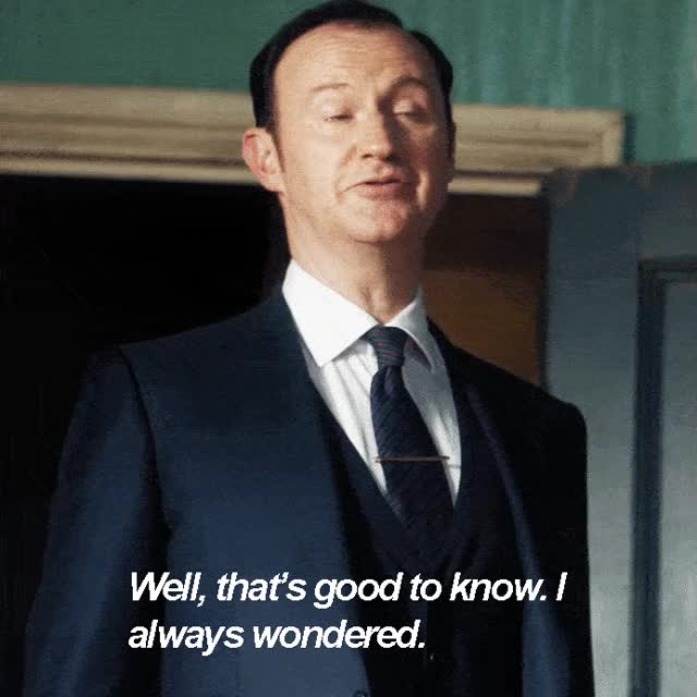 Watch and share Mark Gatiss GIFs on Gfycat