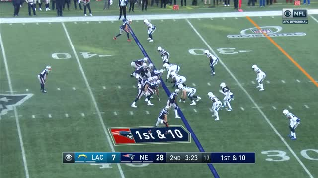 Watch Chargers vs. Patriots Divisional Round Highlights | NFL 2018 Playoffs GIF on Gfycat. Discover more 2018, American Football, Football, NFL, afc, defense, game, game highlights, games, highlight, highlights, nfc, offense, play, plays, season, sport, sports, td, touchdown GIFs on Gfycat