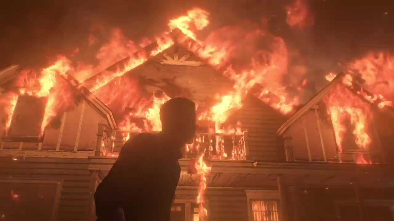 Fire, evil, Your life in flames [The Evil Within 2] GIFs