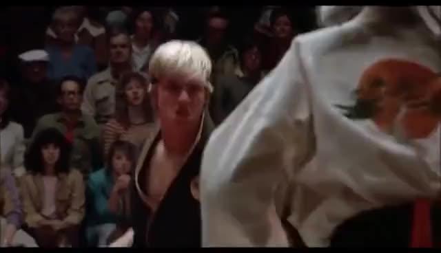 Watch and share Karate Kid - Sweep The Leg GIFs on Gfycat