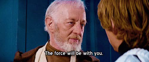 Watch and share May The Force Be With You GIFs on Gfycat