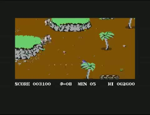 Watch Commando (C64) gameplay GIF on Gfycat. Discover more related GIFs on Gfycat