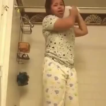 Watch GIRL HANGS HERSELF WITH TOILET PAPER GIF on Gfycat. Discover more related GIFs on Gfycat