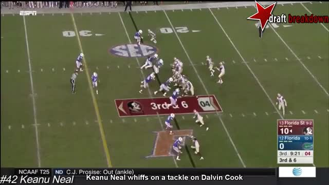 Watch Keanu Neal Vs Florida State(2015) GIF by @newport on Gfycat. Discover more dalvin cook, falcons, keanu neal GIFs on Gfycat