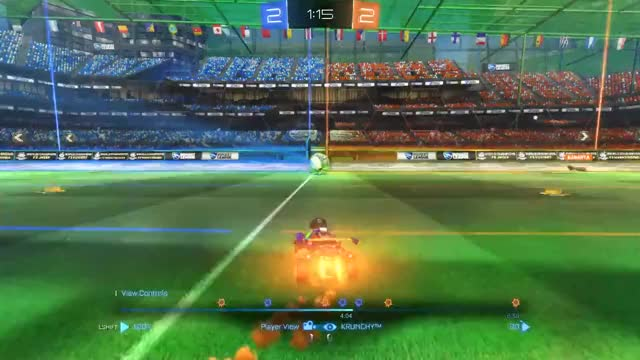 Watch and share Rocket League GIFs and Geforcegtx GIFs by krunchy on Gfycat