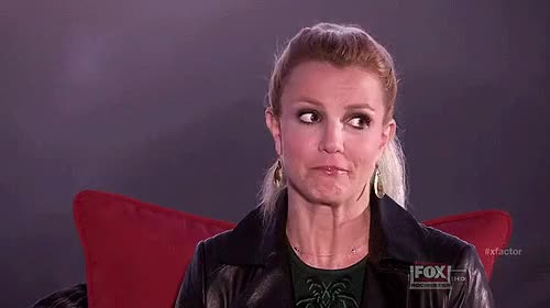 Watch and share Britney Spears Worried Animated GIFs on Gfycat
