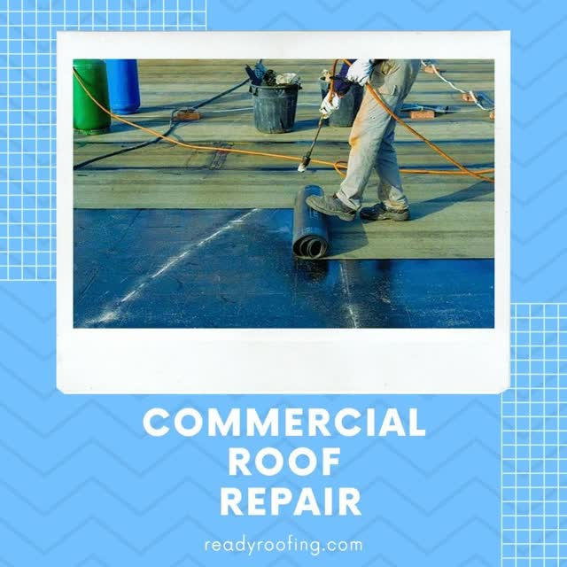 Watch and share Commercial Roof Repair GIFs by Mark Henry  on Gfycat